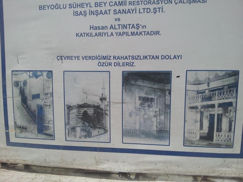 Tarihi camiyi restore ediyoruz dediler, lüks dükkan yaptılar! (3/3)