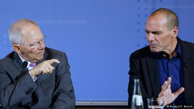 Almanya ve Yunanistan'ın Maliye Bakanları: Wolfgang Schäuble ve Yanis Varoufakis